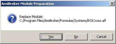 AmiBroker Backtesting with Walk Forward Manager (BTWFMgr)