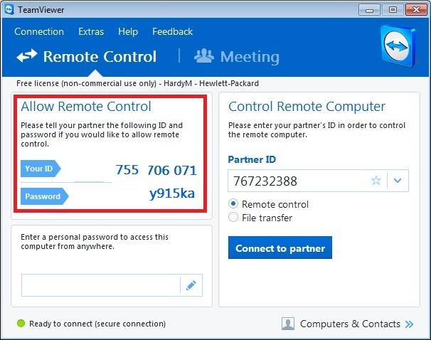 remote desktop connection instructions